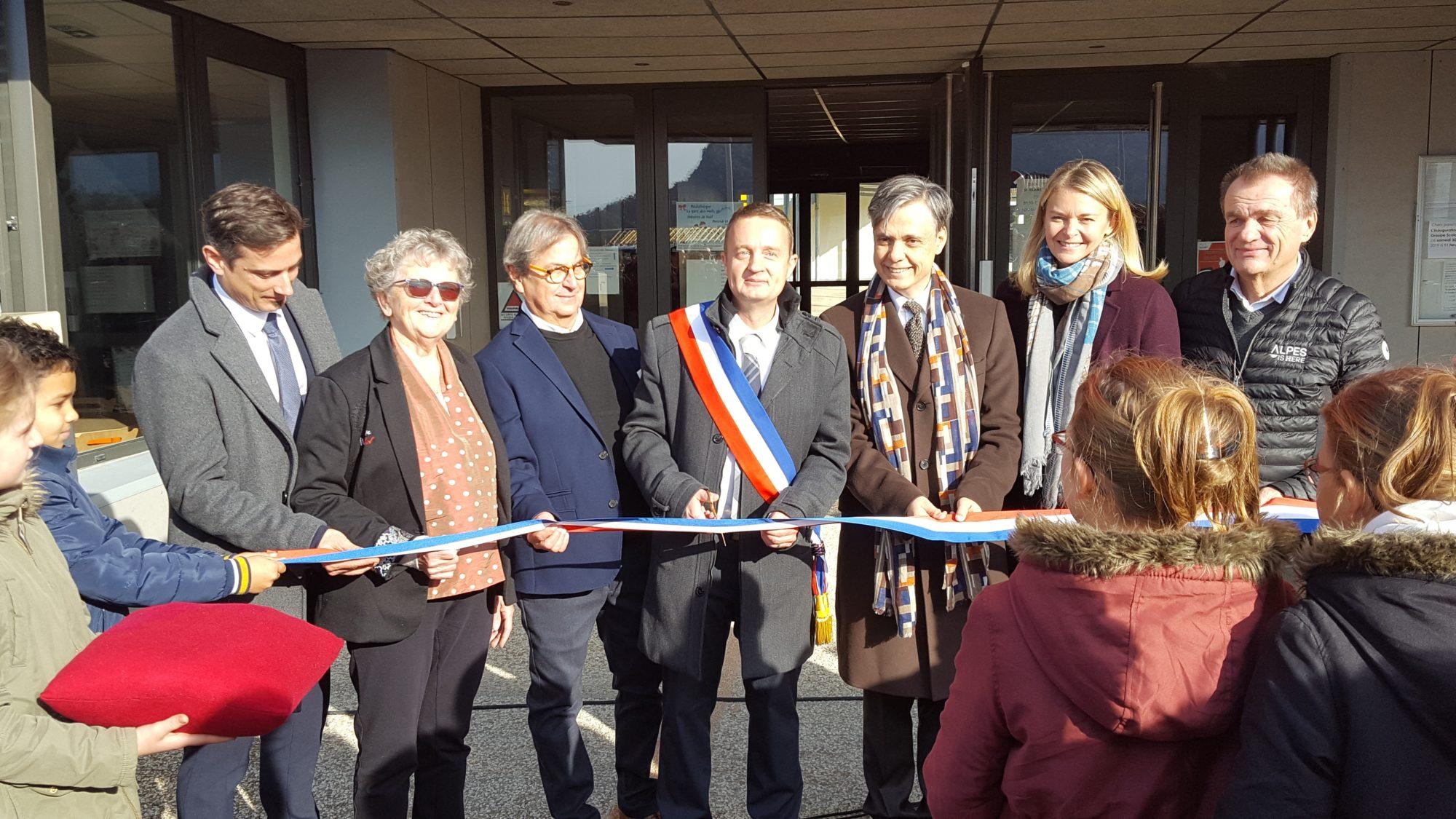 Inauguration groupe scolaire René Bouvarel à Saint-Hilaire du Rosier