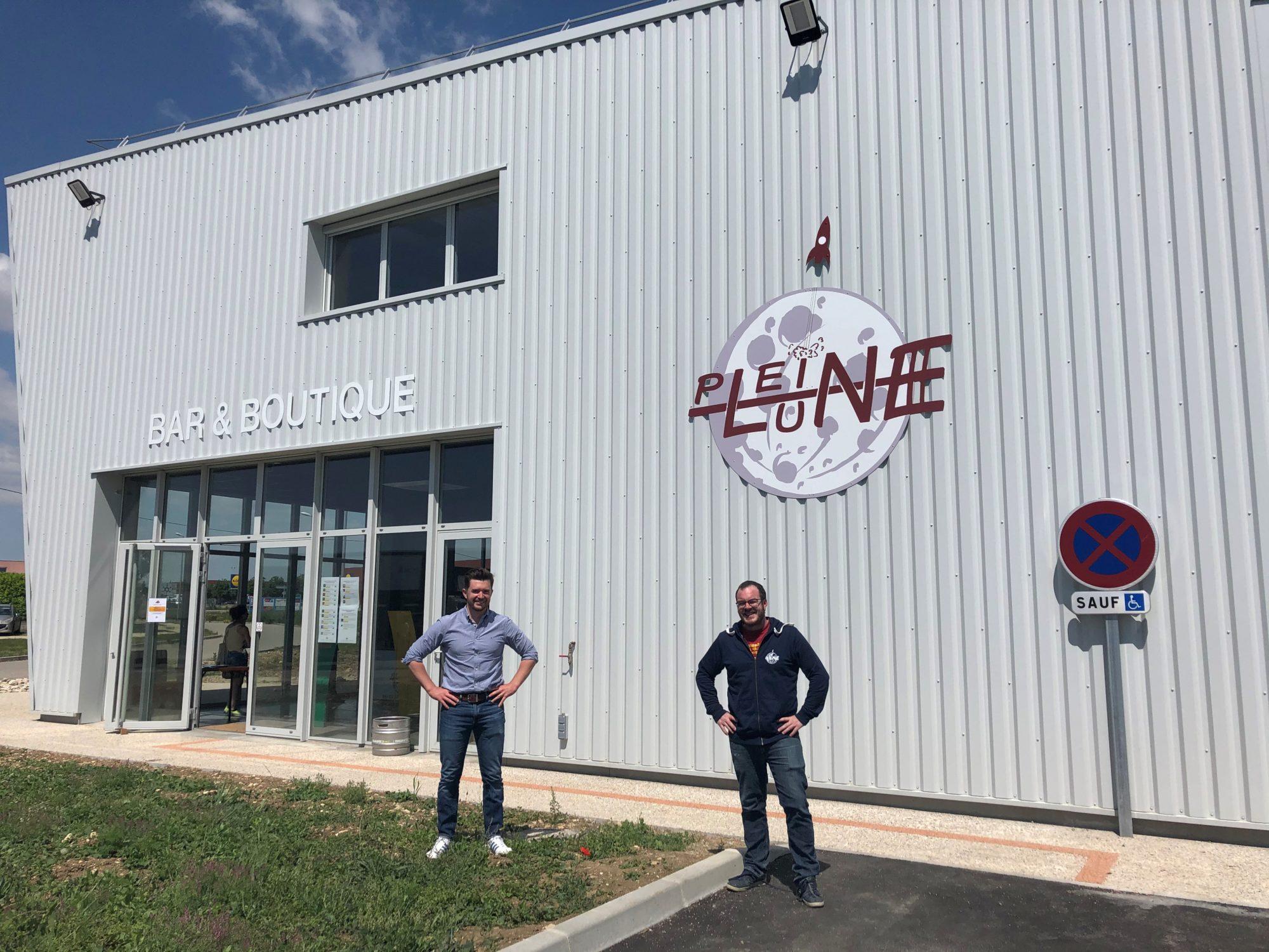 Brasserie de la pleine lune - Chabeuil- Icare Développement - Contractant général